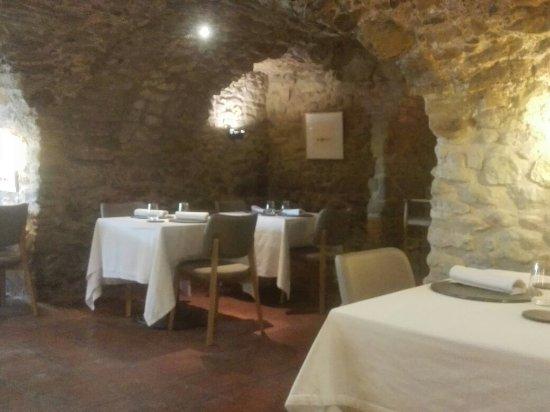La Placa de Madremanya: Interior del restaurante.