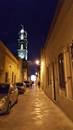 Sternatia, Italia: La via da cui si entra