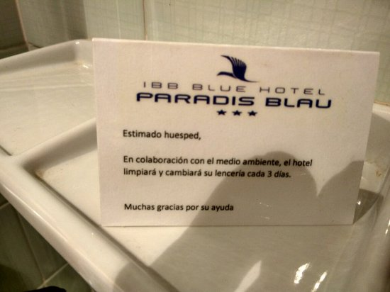 IBB Blue Hotel - Paradis Blau: IMG_20160905_190204_HDR_large.jpg