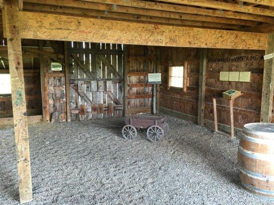 Marceline, MO: Inside the Barn