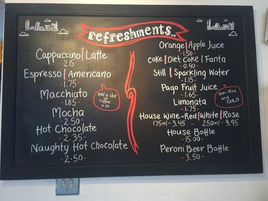 La Bottega Delitalia: Refreshments