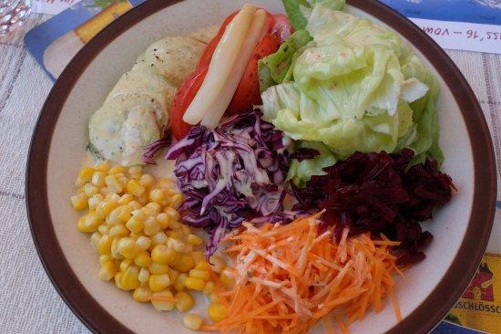 Alpenrösli: Salatteller