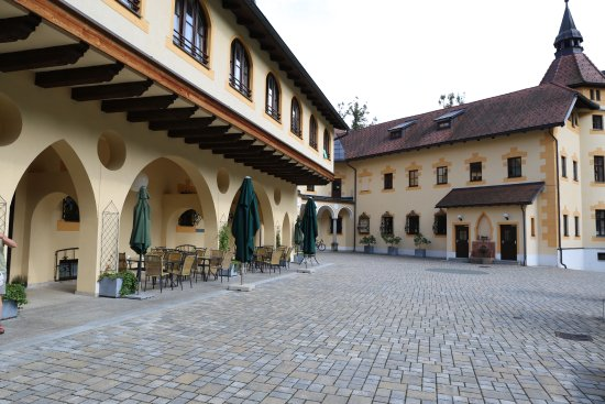Sankt Gallen, Avusturya: The courtyard