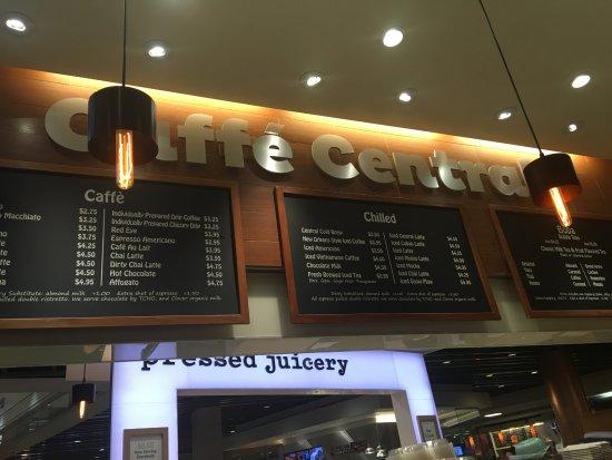 Cafe Central Westfield San Francisco