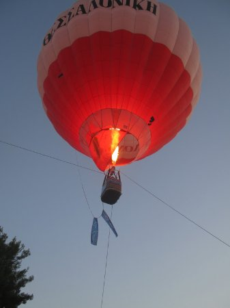 Olympic Hot Air Balloon by Halkidiki Tours