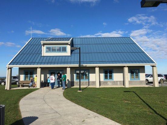 Patton, Pensylwania: Main registration building