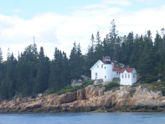View from Bass Harbor Island Cruises.
