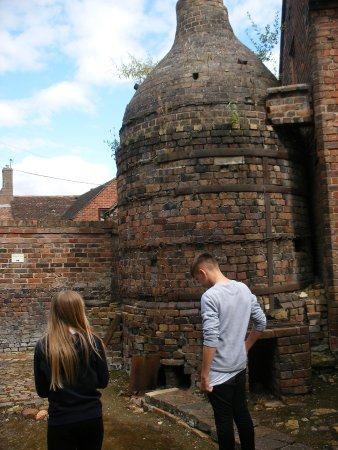 Broseley Pipeworks: Kiln for firing clay pipes