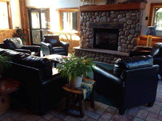 Lyons Falls, NY: Lounge Area