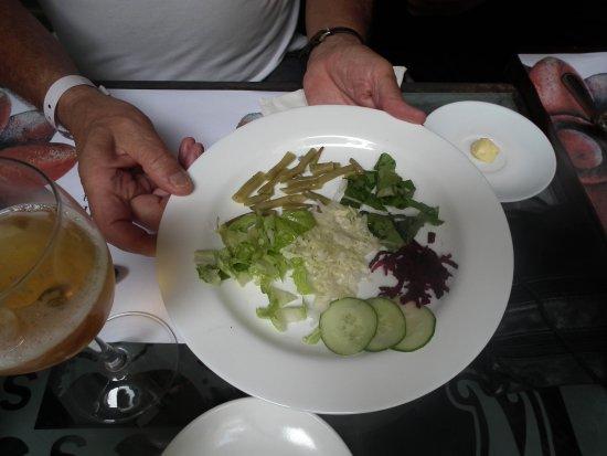 Hotel Florida: la salade en entrée