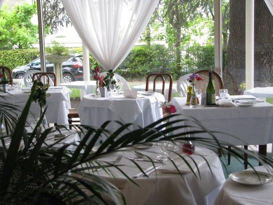royal hotel saint mart salle manger dans vranda