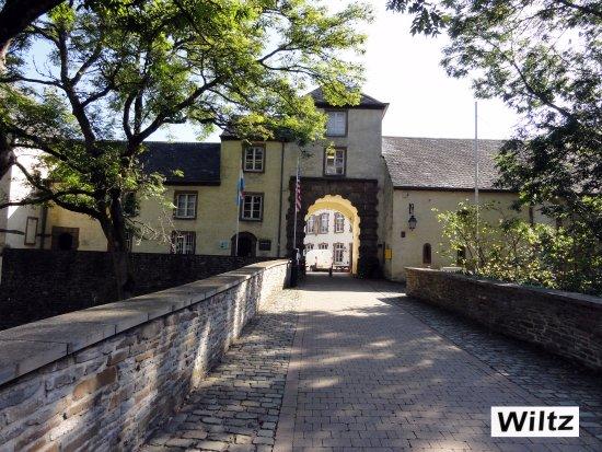 Wiltz, ลักเซมเบิร์ก: entrée abbaye