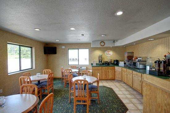 Super 8 Hotel Zanesville: Breakfast Area