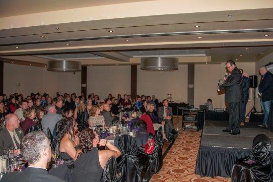 Stony Plain, Canada: Ballroom - awards gala