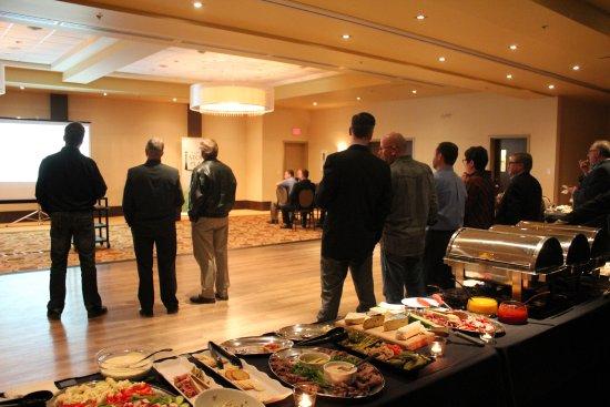 Stony Plain, Canada: Ballroom - networking reception