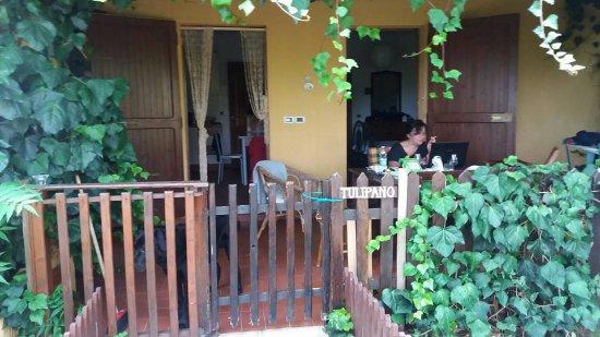 Pian di Sco, Italy: la veranda/terrazza del mio appartamento