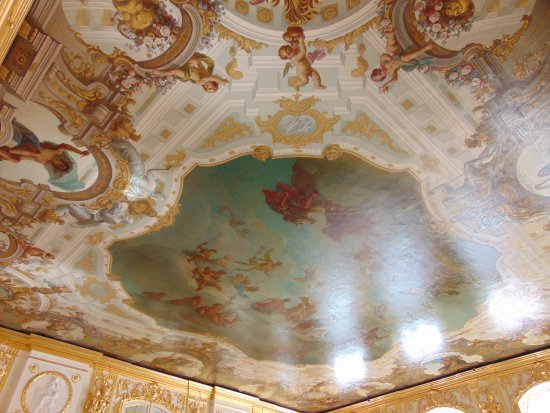ceiling paintings Picture of State Hermitage Museum and Winter