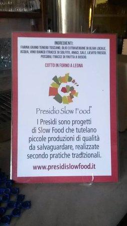 Roccalbegna, إيطاليا: presidio slow food BISCOTTO SALATO DI ROCCALBEGNA