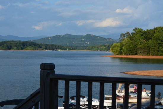 The Blue Otter Restaurant and Sports Bar: View from the deck