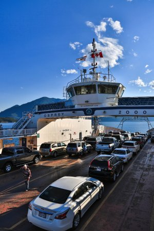 Kootenay Lake Ferry: Osprey 2000