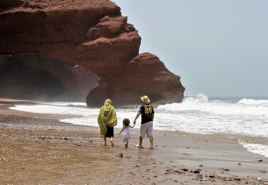 Legzira Beach: пляж Легзира.