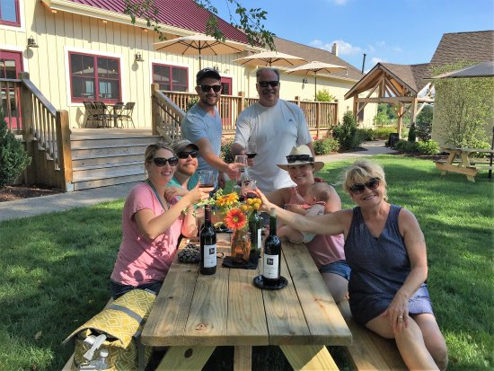 Hammonton, NJ: The best wine is the wine enjoyed with family and friends!