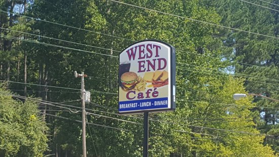 Waynesboro, TN: West End Cafe!