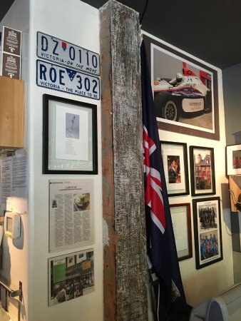 Victoria's Espresso Wine Bar: The Aussie Flag in the corner pays tribute to the owners love of OZ