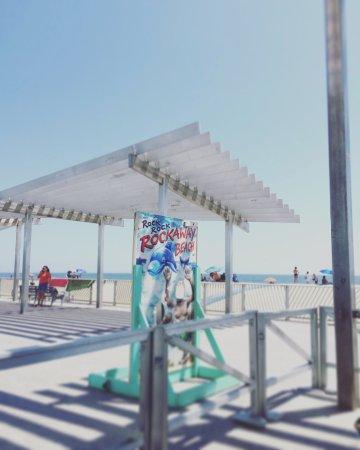 Rockaway Beach: the shack area