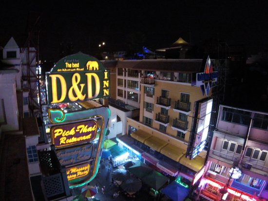 D&D INN: View from the rooftop pool/bar