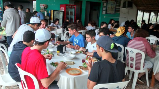La Mancha, Meksyk: Restaurante
