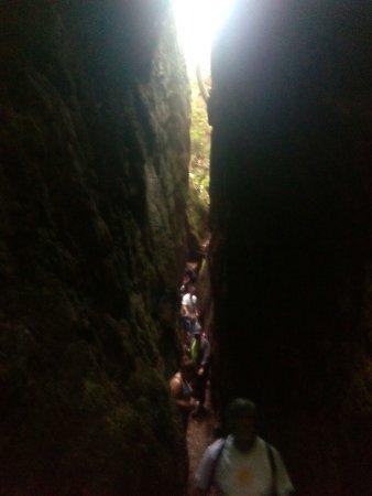 La Caridad, Espagne : Preciosas cuevas de Andina