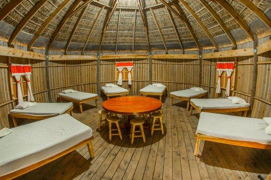 La Mancha, Meksyk: Cabañas