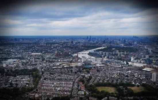 Central London Helicopter Flight- Shared flight: What a view.