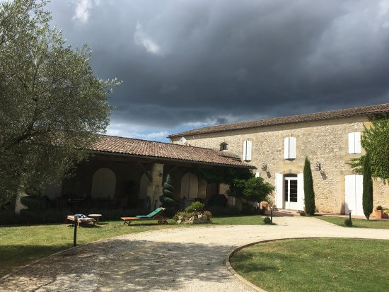 Belves-De-Castillon, Frankrijk: Chateau Claud-Bellevue
