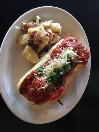 Maple Street Grille: Meatball Sandwich