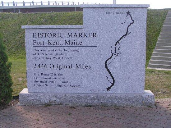 Fort Kent marker