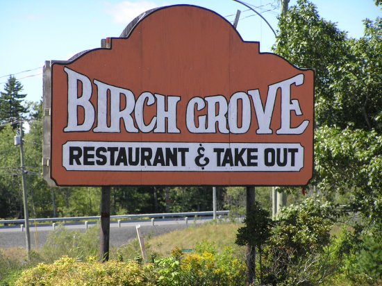 Birch Grove Restaurant & Take-out: Entry