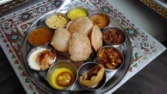 r royal rajasthan the thali