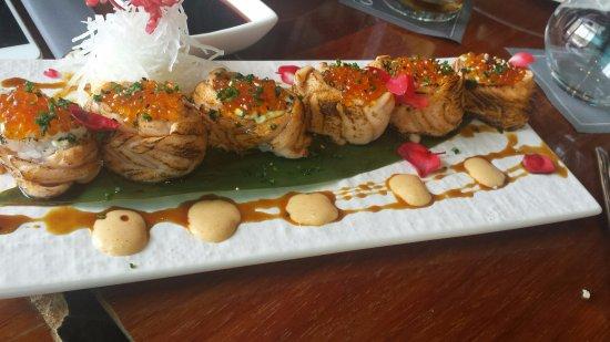 Sushi preparado en exclusiva para nosotros por el Sushi Man