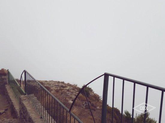 Monte Solaro: Nebbia  Nel nulla assoluto