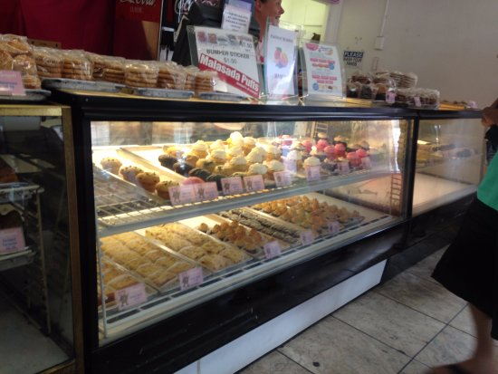 Other baked goods at Leonard's Bakery in Oahu, Hawaii.