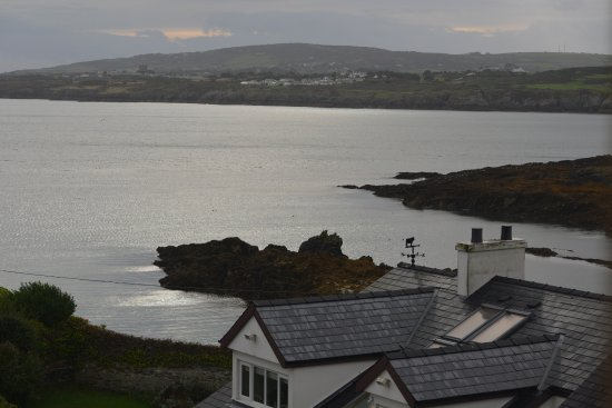 Amlwch, UK: The view from our room