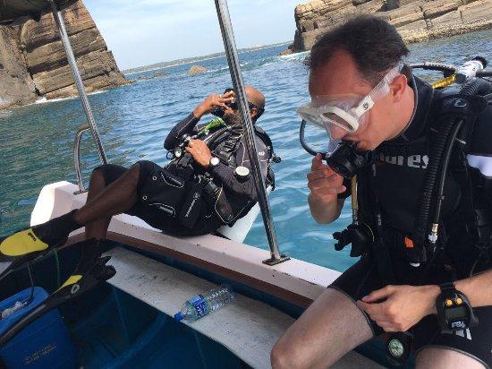 Why Divers Fall Backwards