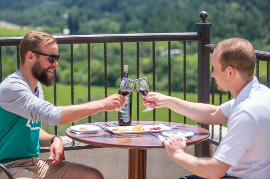 Tastes from the Top at Sterling Vineyards, Calistoga