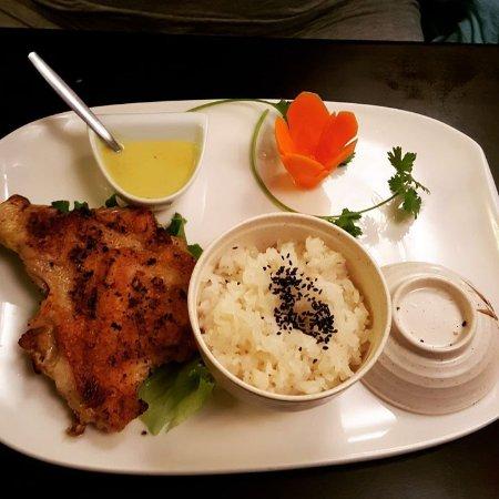 poulet au lait de coco et riz gluant picture of thai nam. Black Bedroom Furniture Sets. Home Design Ideas