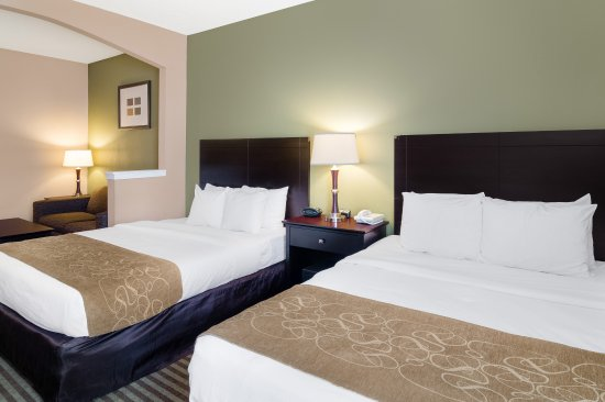 Comfort Suites Las Colinas Center: Two Queen Beds