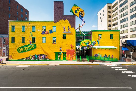 Crayola Experience: 26 Hands-On Attractions!