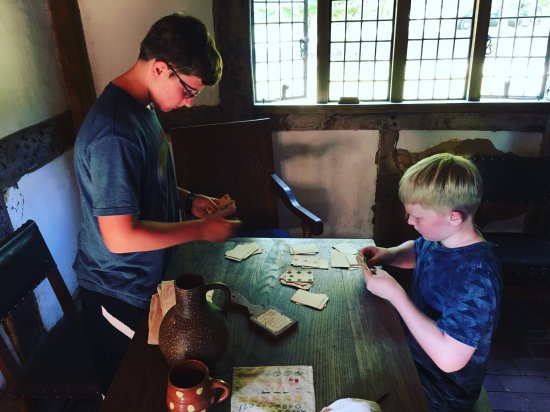 "Staunton, VA: playing cards in ""England"""