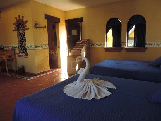 Hotel Hacienda del Caribe: Habitacion double queen